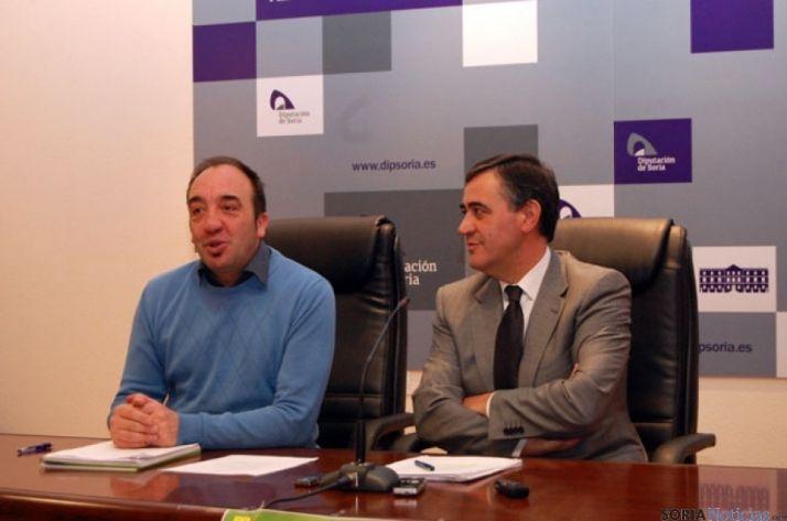 Chusja Andres y Antonio Pardo