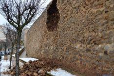 Derrumbe de la muralla
