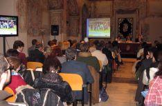 Presentación del Erasmus + en Valladolid.
