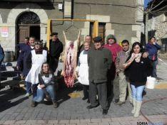 Imagen de la matanza del cerdo en 2012.