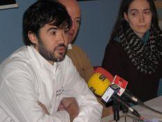 Oscar García, en la presentación del convenio.