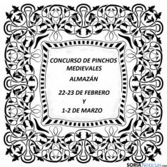 Cartel del concurso local de pinchos.