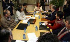 Reunión de las OPAs con la viceconsejera de Desarrollo Rural.