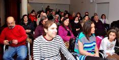Parte del público asistente a la apertura de la muestra. / SN