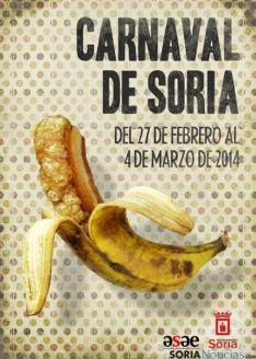 Cartel anunciador Carnaval 2014