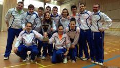 Jugadores del Bádminton Soria
