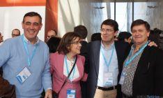 Responsables del PP de Soria con Fernández Mañueco