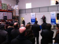 Acto de inauguración del nuevo almacen del Banco de Alimentos