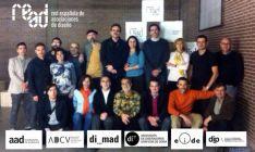 Representantes de READ, con Jesús Ángel Alonso