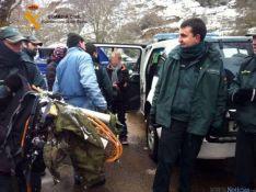 60 personas participan en el rescate de montaña de un matrimonio de Madrid con sus dos hijos y una pare