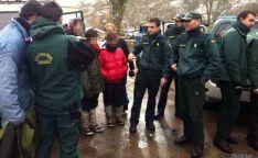 Alegría tras el rescate de los desaparecidos en el Urbión/ Guardia Civil