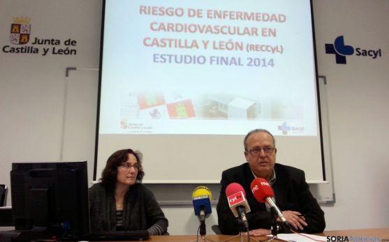 Enrique Delgado y Carina Andrés.