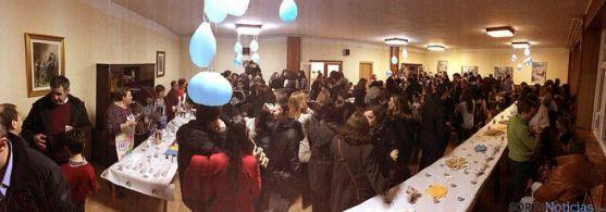 Ex alumnos y docentes acudieron al colegio en un encuentro multitudinario.