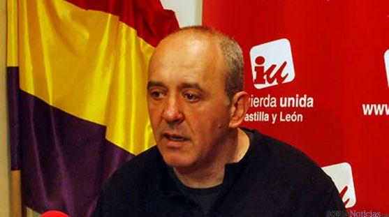 Enrique García, de Izquierda Unida en Soria.