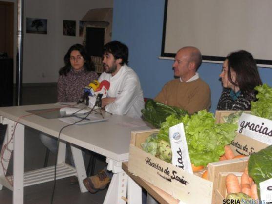 Presentación del convenio entre Baluarte y Huertos de Soria.