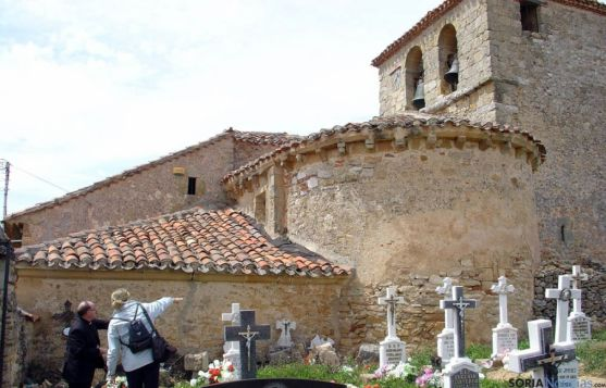 Iglesia parroquial de Villabuena, templo incluido en el convenio.