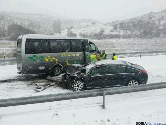 Accidente en Medinaceli