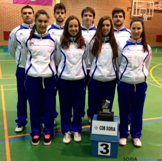 Delegación del Club Bádminton Soria
