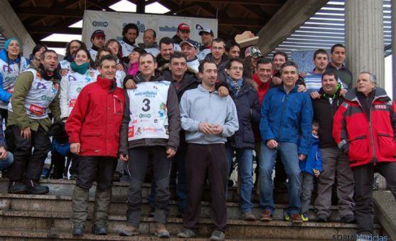 Mushers, veterinarios, organización y autoridades en Covaleda