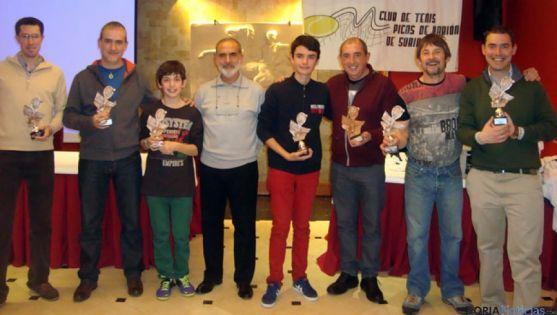 Ganadores de la III Liga de Tenis de Soria