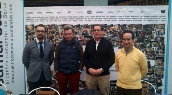 Fco. Javier Martínez, Víctor Mateo, Jesús Moya y Francisco Parra