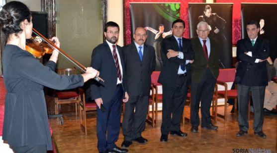 Eduardo Munilla, Jerónimo Contreras, Carlos Martínez, Juan Manuel Ruiz Liso y Anselmo García