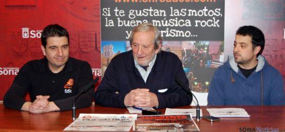 Presentación de la 'On road' motera, que llegará a Soria el 8 de marzo