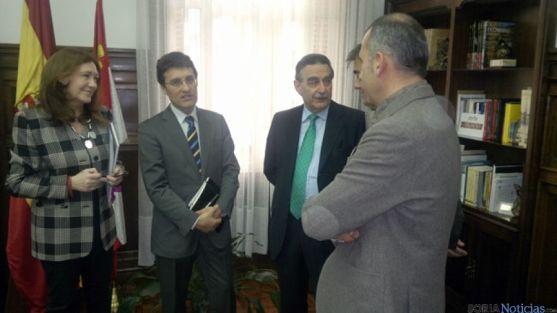 José María Heredia, Fernando Miranda y Anselmo García