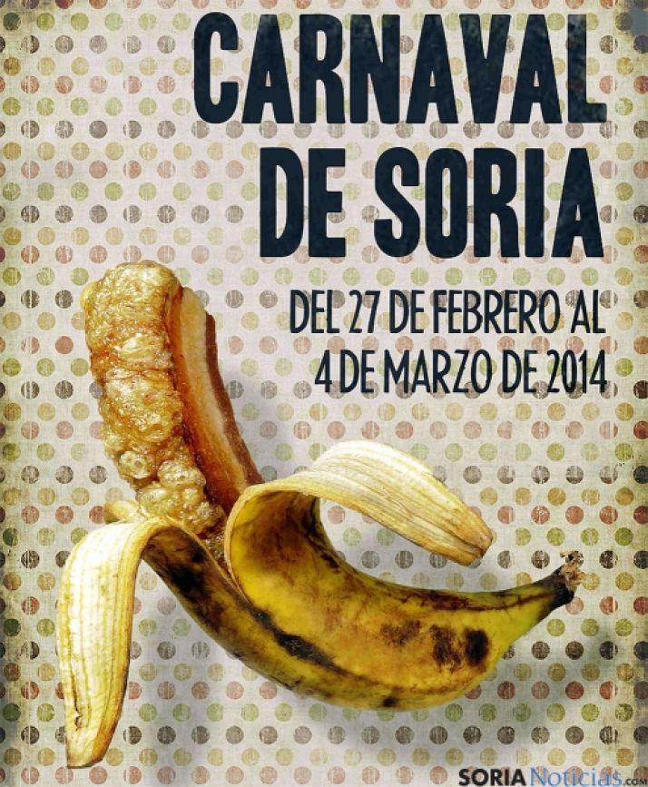 Original cartel del Carnaval de Soria.