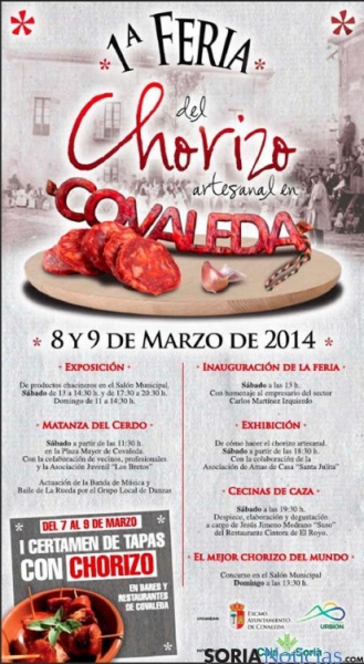 Cartel de la Feria del Chorizo