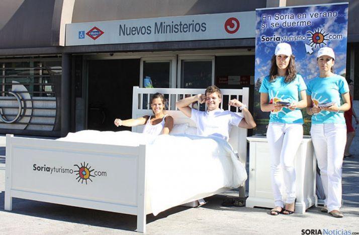 Una de las campañas publicitarias de Soria y Turismo.