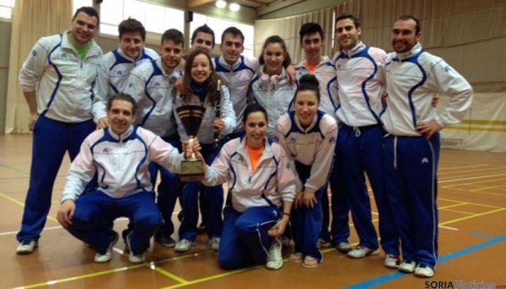 Foto 2 - El Club Bádminton se proclama campeón en la Segunda División de la Liga Nacional de Clubes