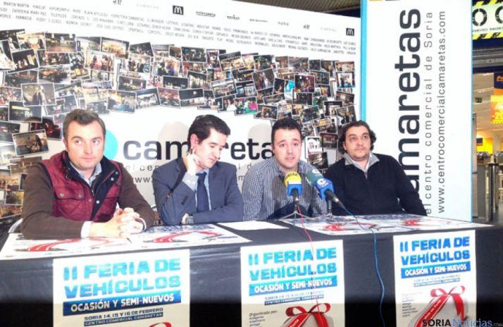 Presentación de la II Feria de Vehículo de Ocasión de Soria