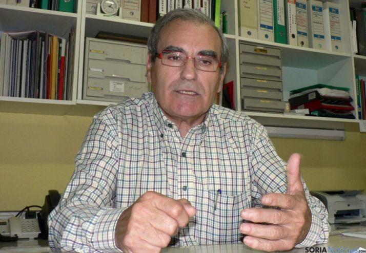 Ignacio Gutiérrez, en la asociación