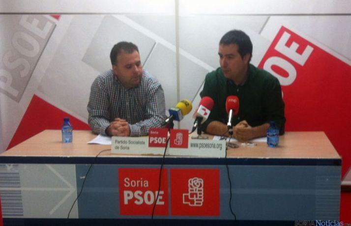 Juan Francisco de Lucas y Ángel Hernández