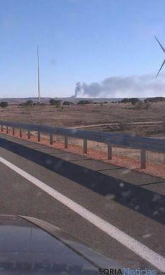 Incendio en Torralba de Almazán