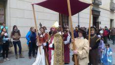 Llegada del nuevo 'obispo'