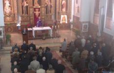 Misa en los Franciscanos