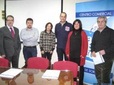 Integrantes de la nueva directiva del Centro Comercial Abierto.