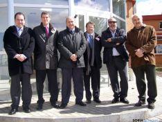Representantes de la empresa Velatia-Ormazábal en el Ceder