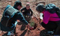 La plantación se efectuó en el Pereginal.