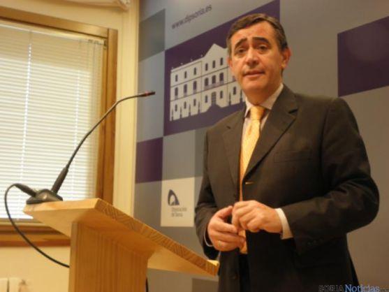 El presidente de la Diputación, Antonio Pardo.