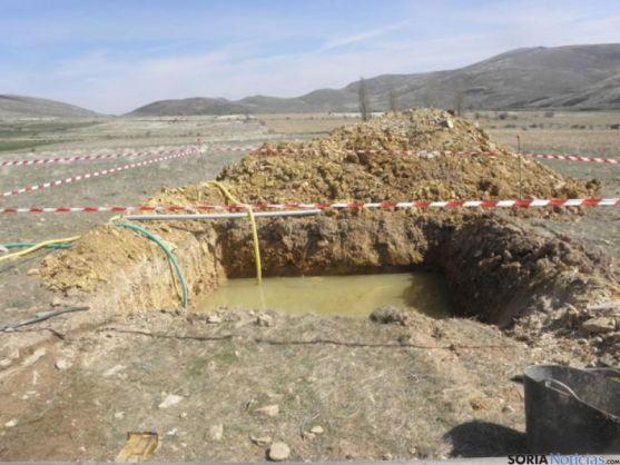 La mina se encuentra en la sierra de El Tablao.