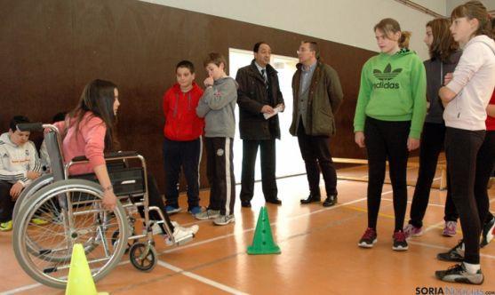 En Soria participan 9 centros con alumnos de ESO.