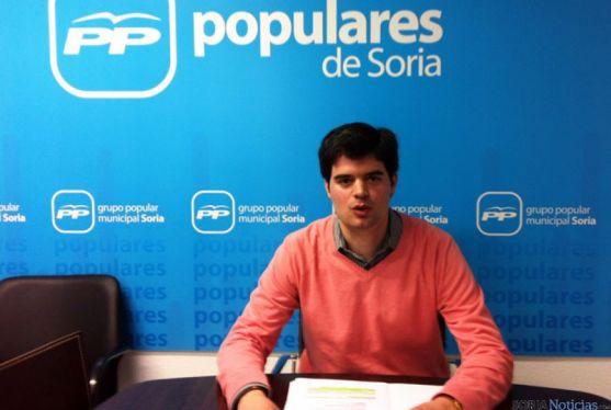 Javier Sanz en la rueda de prensa