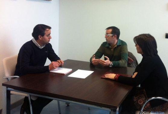 Reunión de UGT con Ignacio Soria