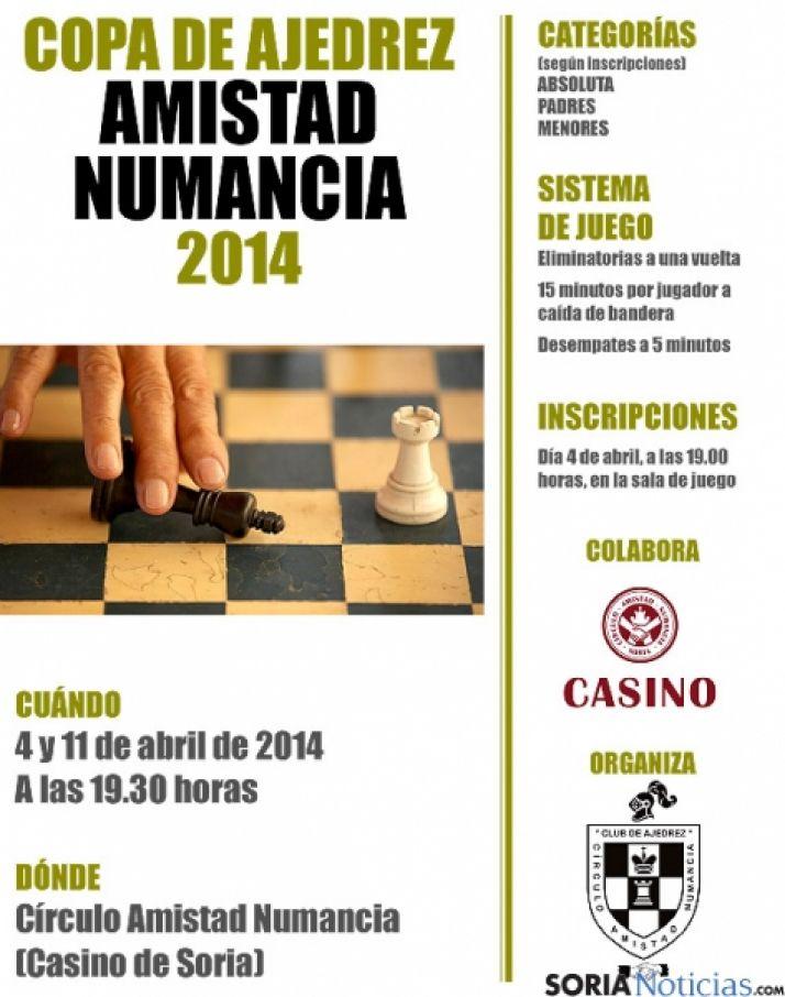 El torneo tendrá lugar en el Casino.