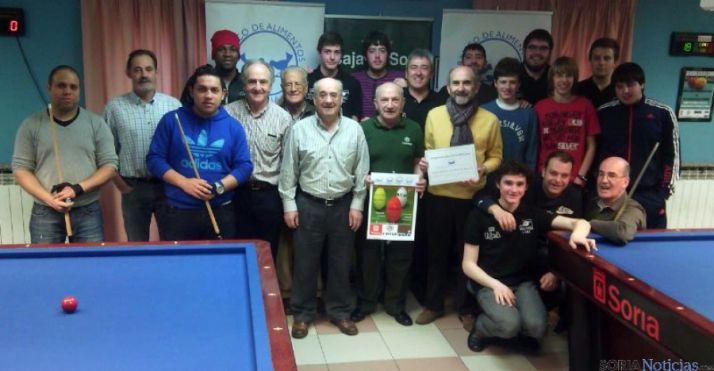 Participantes en el torneo solidario.