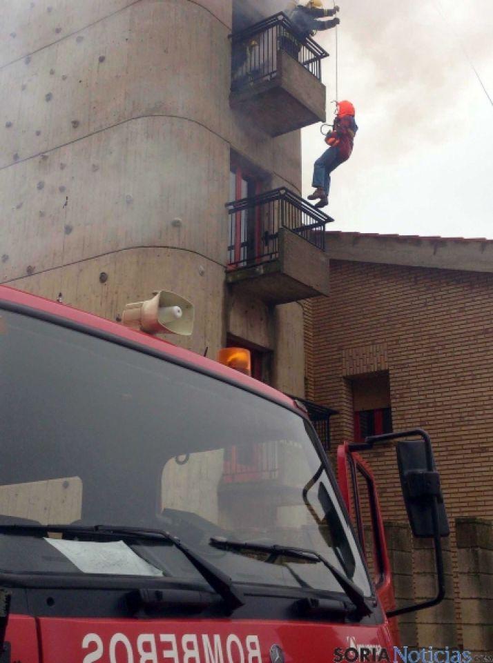 Simulacro del SEIS en Soria.