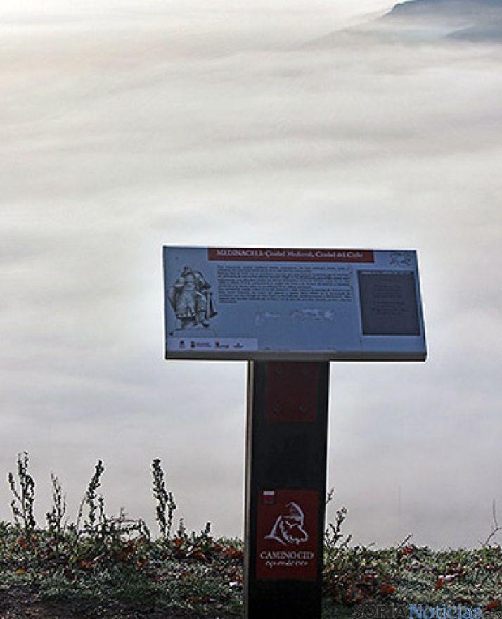 Hito cidiano en Medinaceli.